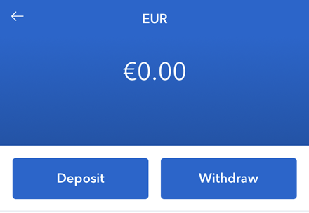Coinbase Euro withdrawal